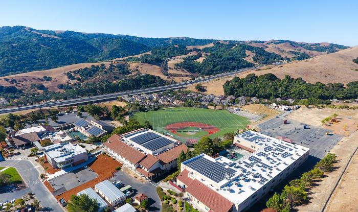 Cool Earth Solar Completes Rooftop Solar Power System at Valley Christian Center